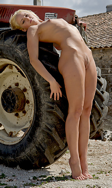 By The Tractor